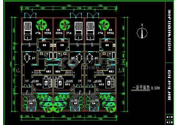 淮安市城市建筑设计院cad施工方案平面图图片