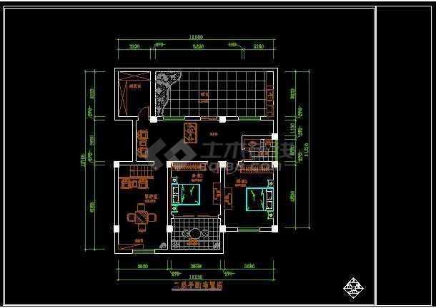某一套图纸楼装修设计CAD详图图纸儿童鞋复式手织a图纸图片