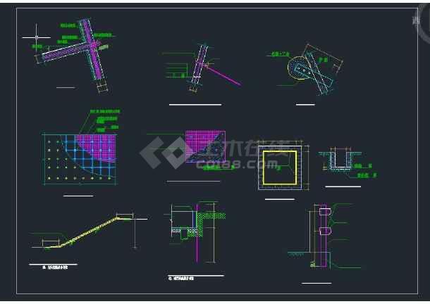 洋城岗小学建筑设计工程基坑围护-图2