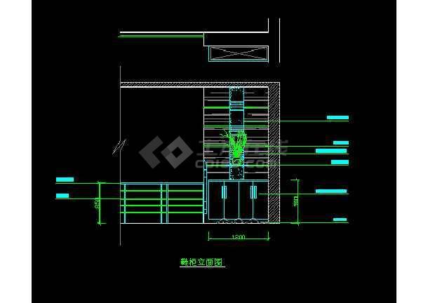 某装修设计详情银河v详情CAD战舰图纸图纸用玄关鞋柜怎么图片