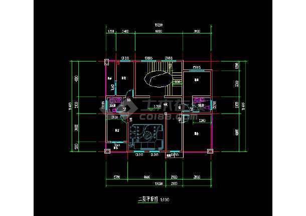 北方复式别墅方案设计图纸-图1