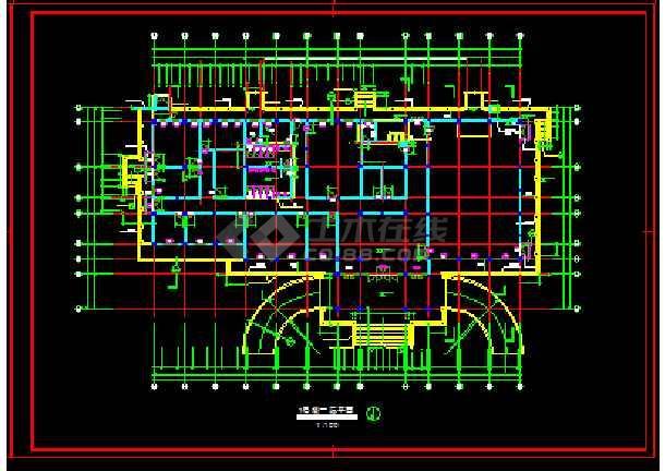 太湖古建筑施工cad设计方案详图-图3