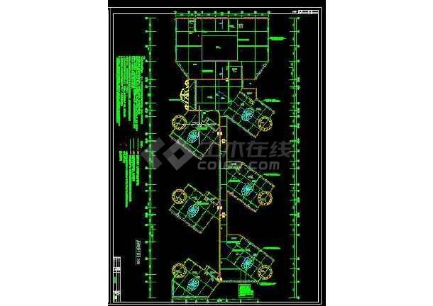 【整合】六套大型幼儿园电气设计图-图2