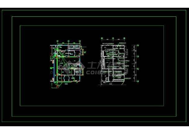 【整合】六套大型幼儿园电气设计图-图3