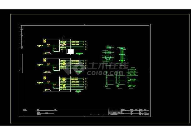 三层幼儿园建筑电气设计图(共六套)-图2