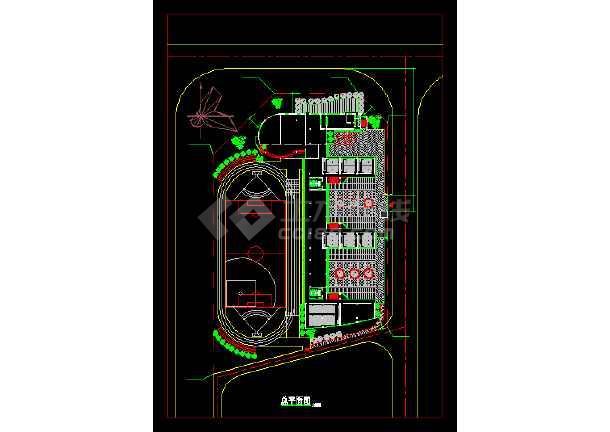 小学教学楼建筑设计施工图(八套)-图2