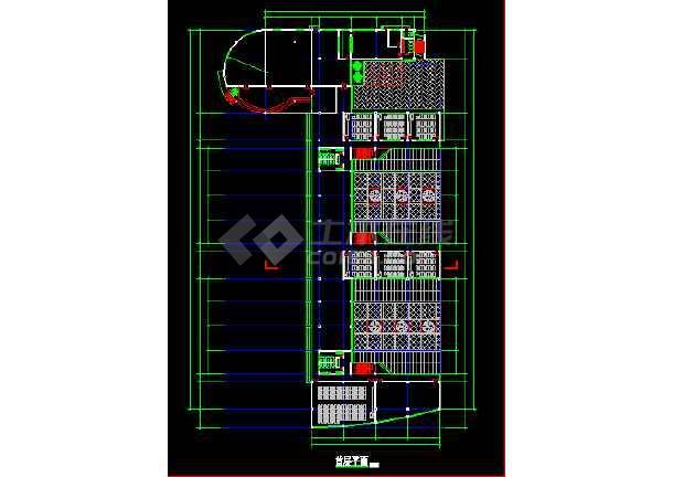 小学教学楼建筑设计施工图(八套)-图3