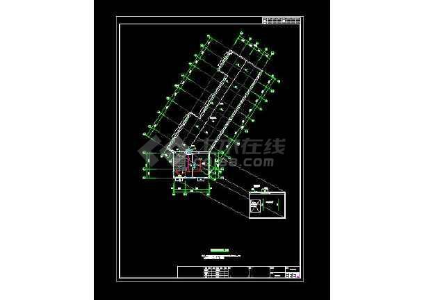 整合六套四层幼儿园电气设计CAD图-图2