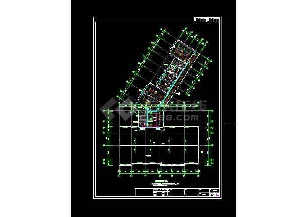 整合六套四层幼儿园电气设计CAD图-图3