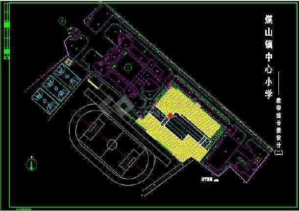六套小学教学楼全套建筑设计施工图-图2
