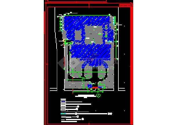 太湖古建筑施工cad设计方案图纸-图2