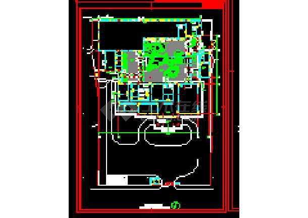 太湖古建筑施工cad设计方案图纸-图3