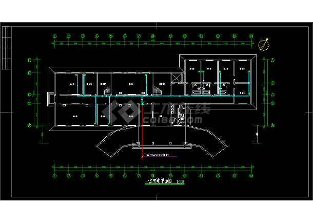六套多层办公楼全套电气设计施工图-图3