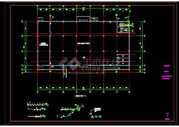 东湖镇菱东村文化礼堂建设工程- 水专业图纸-图1