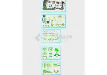 【玻璃全套】广场护栏商业景观设计方案(街角cad网络教程图片