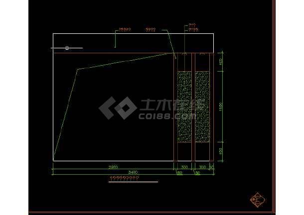 某全套楼装修设计图纸复式CAD图纸华为mt7方案v全套图片