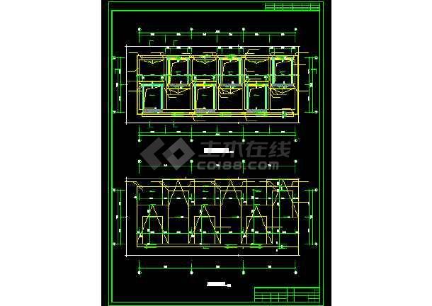 博物馆展厅建筑设计方案全套CAD图纸-图2