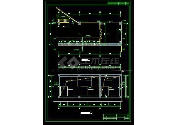 博物馆展厅建筑设计方案全套CAD图纸-图3