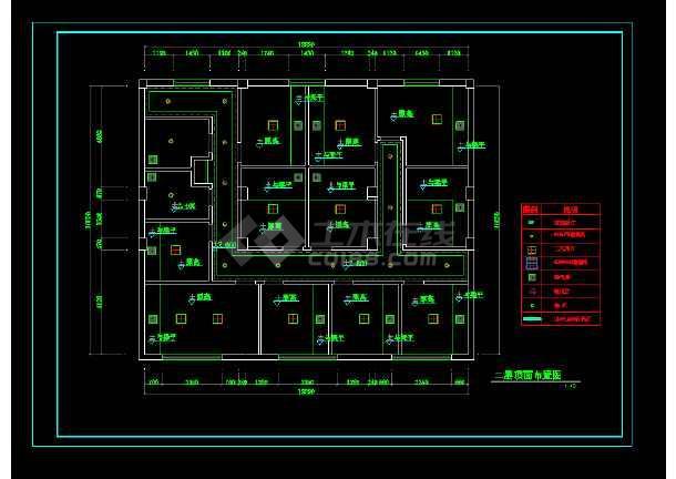 平面咖啡厅二层顶面cadv平面详图cad快捷键曲线粗中加图片