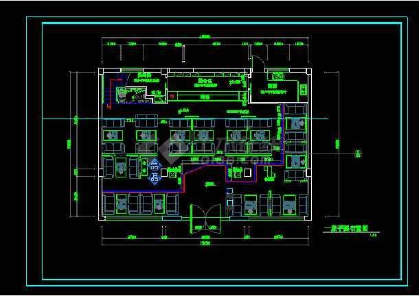详图咖啡厅二层顶面cadv详图类型cad剪裁平面图片