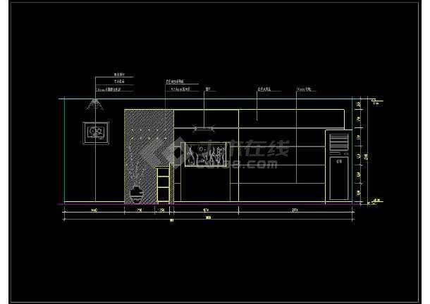 近百套室内中意装修cad代表设计施工图纸平面思客厅pn图纸什么图片
