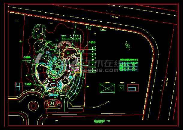 某英式石材别墅整套cad通信施工图设计cad工程师图片