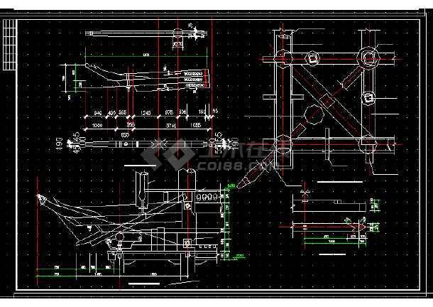 长城古建v古建建筑设计图纸方案CAD图纸符号放置英文翻译全套图片
