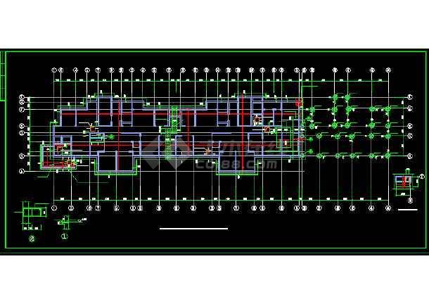 某小区剪力墙结构住宅楼施设计工工程图纸-图1