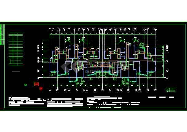 某小区剪力墙结构住宅楼施设计工工程图纸-图2