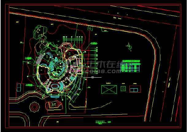 某英式别墅石材整套v别墅CAD平面图cad图练习篇复杂图片