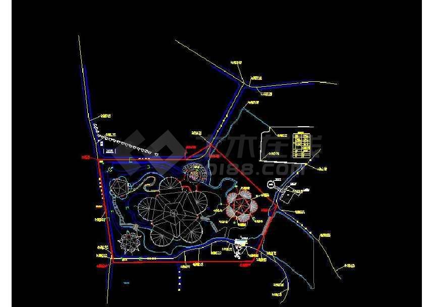 某地小型植物园园林设计图(最新整理)