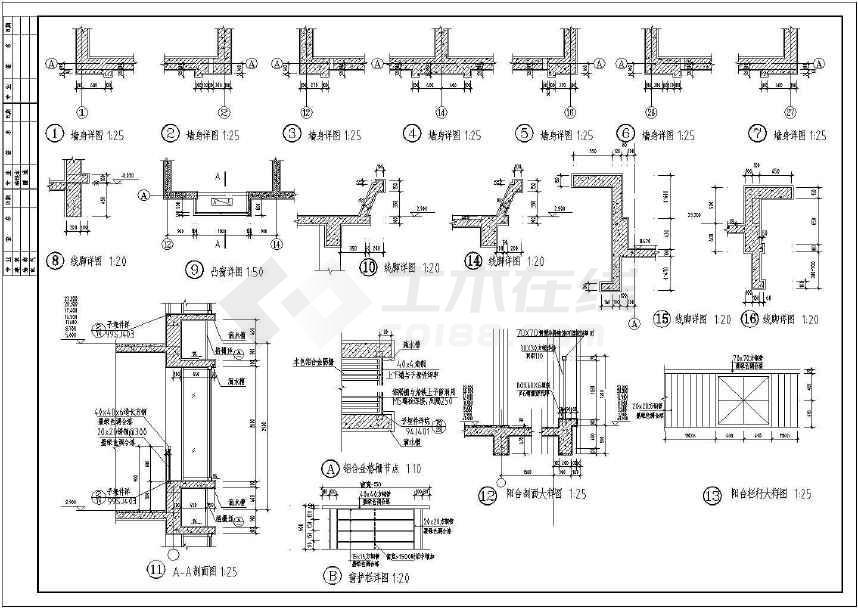 横道高层小网络明珠建筑cadv高层住宅怎么用cad图纸图南郡画图片