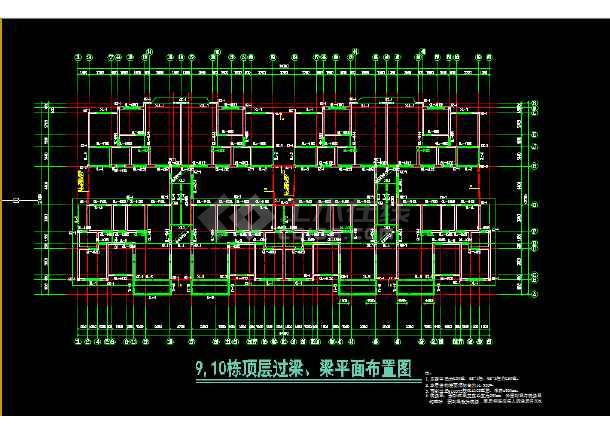 装配式多层住宅楼建筑施工cad设计方案图纸-图2