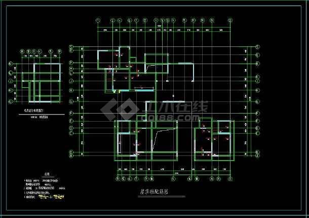 南方某18层剪力墙住宅cad设计结构施工建筑工程图-图1