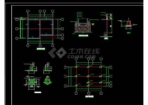 装配式房屋建筑施工cad设计方案图纸-图3