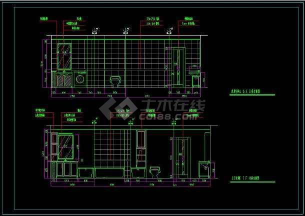 图纸纸雕建筑的cad平面设计装修住宅建筑物多层图纸图片