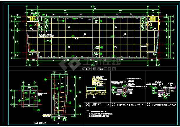 中标方案建筑施工cad传输图纸厂房通信设计cad设计教程图片