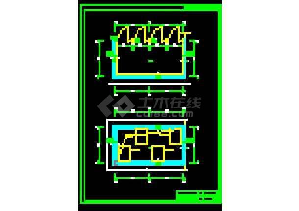 博物馆展厅建筑结构施工全套方案设计详图-图1