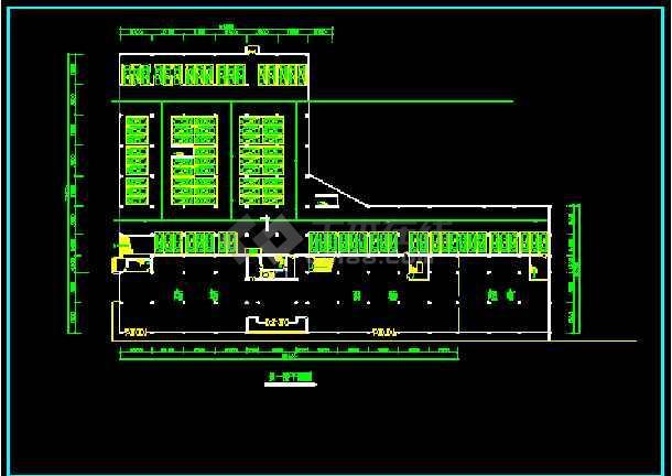 临街商场建筑cad施工方案设计图