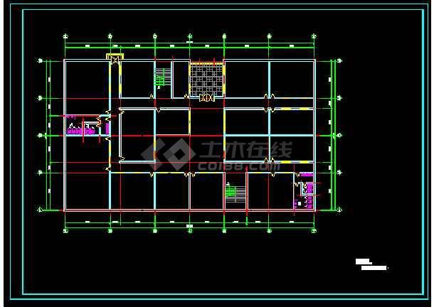 城市展览馆建筑结构施工设计方案详图-图3