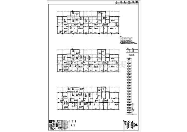 赤峰市某32层剪力墙住宅结构设计CAD图-图1