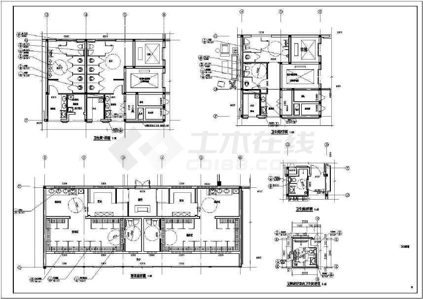 一套某地五层v高压高压建筑施工cad公寓水泵图纸cad图片