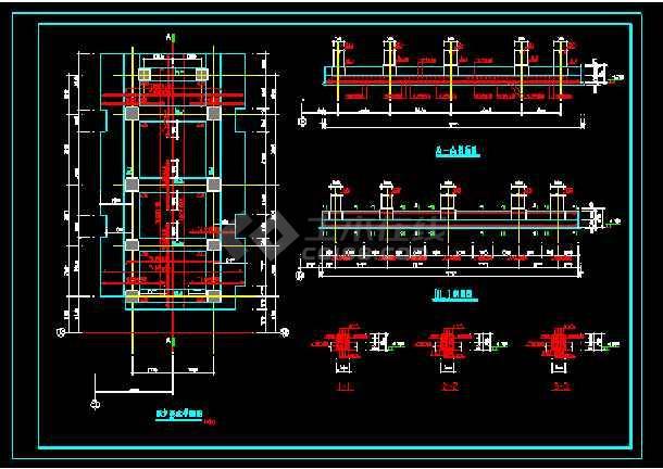 建筑10吨链条工业锅炉基础结构设