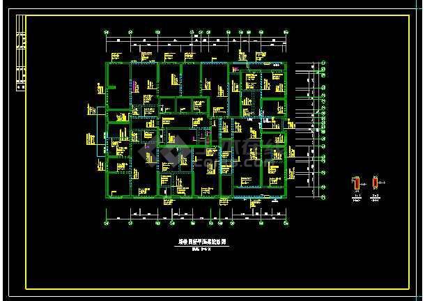 经典41层纯剪力墙住宅楼结构设计cad施工图-图2