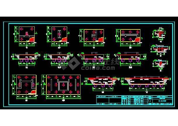 十六层剪力墙小高层住宅楼全套设计cad施工设计图纸-图1