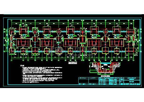 十六层剪力墙小高层住宅楼全套设计cad施工设计图纸-图2