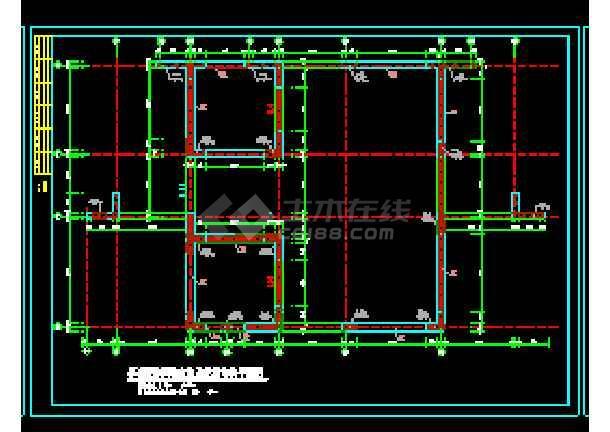剪力墙结构住宅楼cad施工工程设计图纸-图2