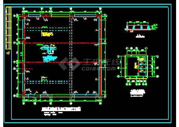剪力墙结构住宅楼cad施工工程设计图纸-图3