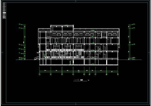 小区超市的cad平面设计建筑施工图纸(含设计说明)图片