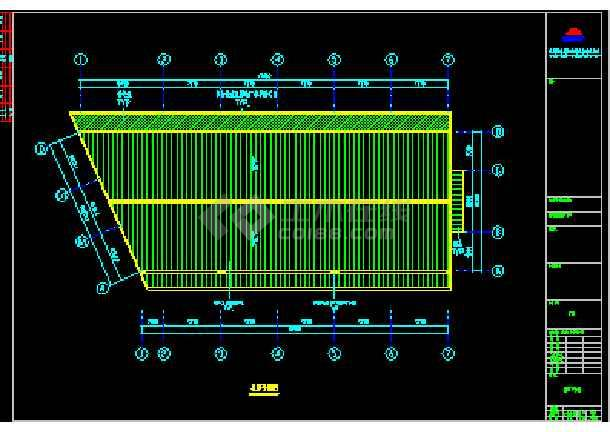 伟明工贸有限公司结构CAD方案设计图纸-图1